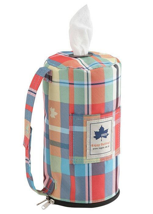 【【蘋果戶外】】LOGOS LG81285057 愛麗絲餐巾紙套(紅) 衛生紙架 餐巾紙盒 適用 行動廁所 行動馬桶 餐廚 餐具