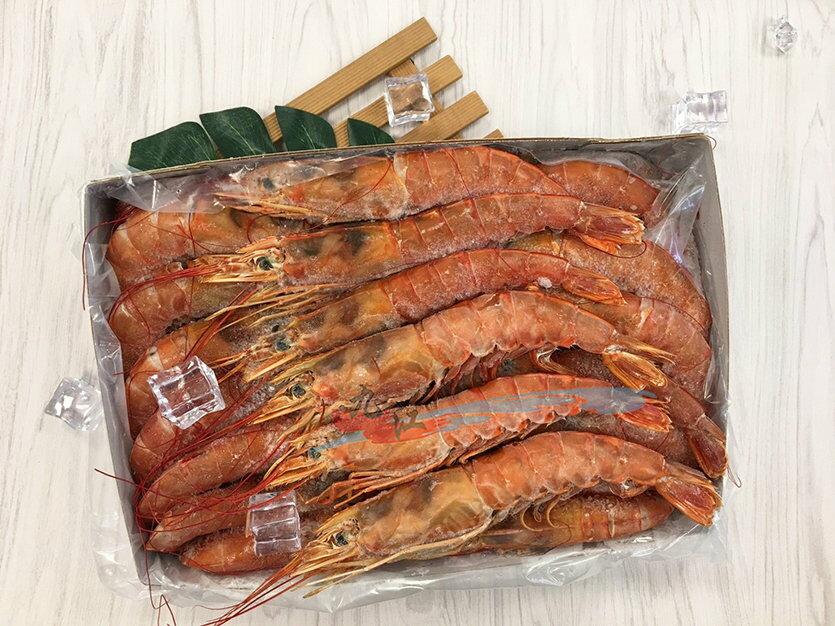 【九江水產】L1天使紅蝦(船凍! 非陸凍)--- 來自深海無汙染的孕育滋養---✦開幕慶滿1800元免運中~~~✦【附發票】