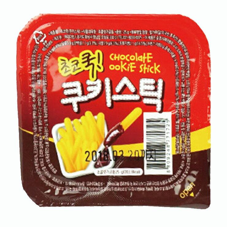 韓國 快樂時間 餅乾 巧克力沾醬杯-25g