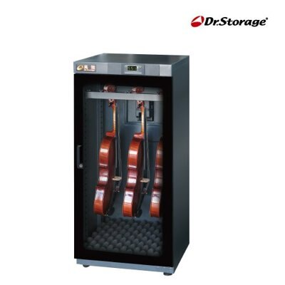 Dr.Storage 高強 C25-190M 專業級小提琴專用123公升防潮箱 C25190M 35% ~ 55% RH可單點濕度控制
