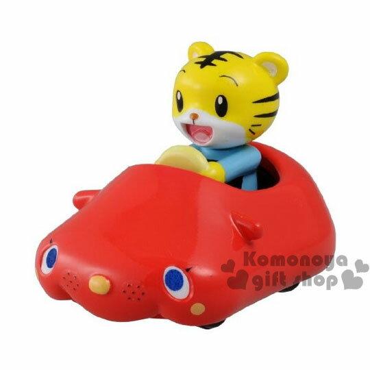 〔小禮堂〕巧虎 TOMICA小汽車 《紅.大臉敞篷車》