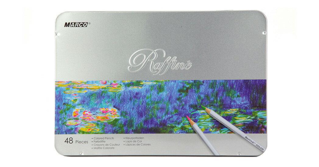 【文具通】MARCO Raffine 馬可高級專業色鉛筆 7100-48TN 48色鐵盒 請詢問庫存 A13403