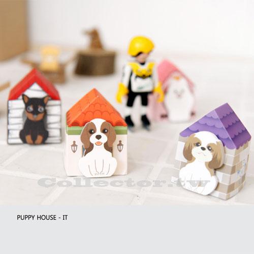 【L14120901】韓版可愛紙箱小狗便利貼 便簽貼 狗狗房N次貼 便條貼