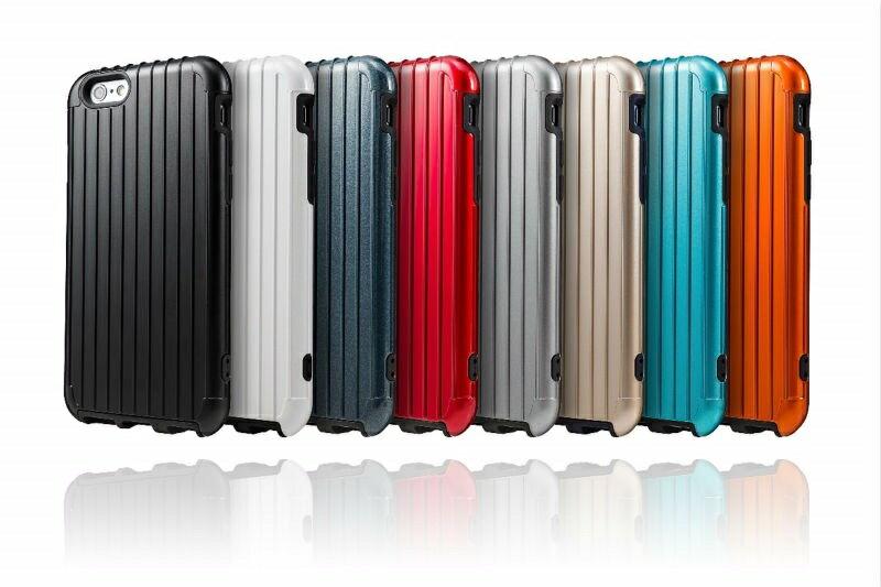 日本 Gramas SL334 iPhone6+/6S+ 5.5吋 行李箱 背蓋 保護殼