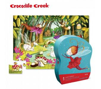 【美國CrocodileCreek】大型地板拼圖系列-小仙女