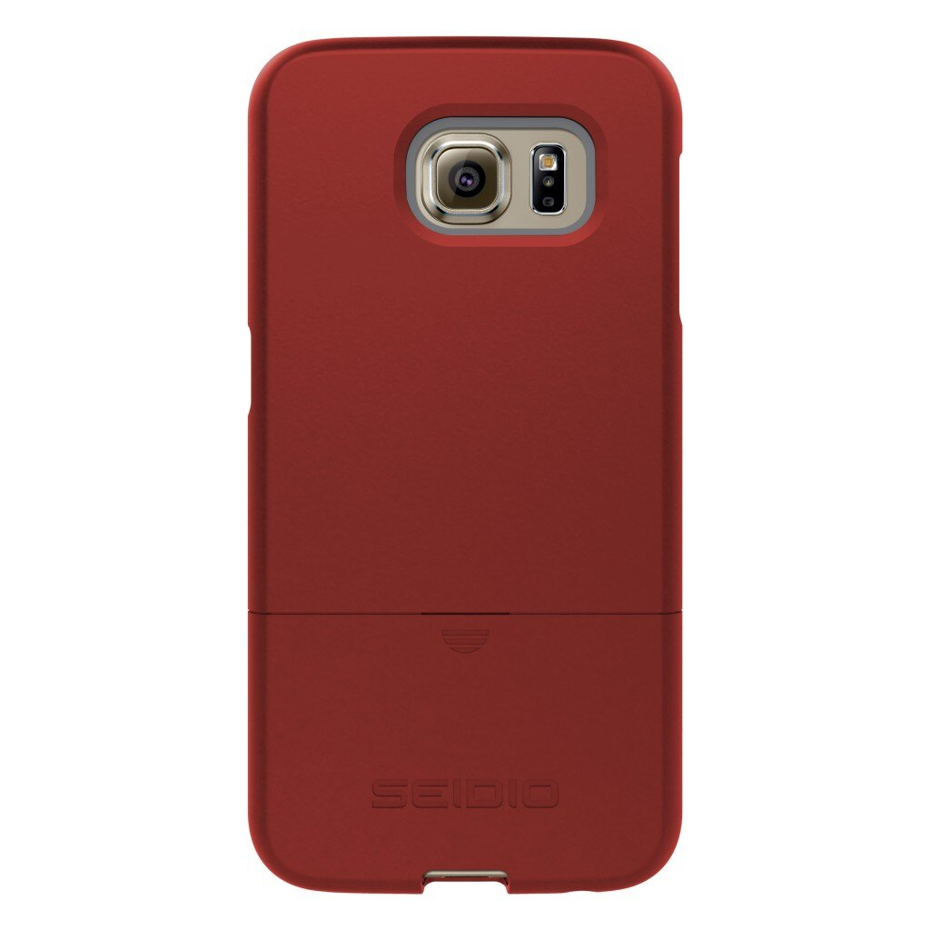 New SURFACE™ 專屬時尚雙層保護殼 for Samsung Galaxy S6 - 熱情紅