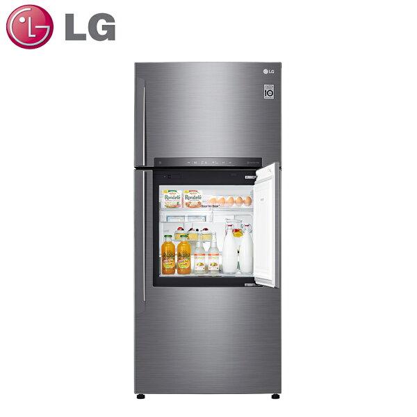 原廠送好禮★【LG樂金】525L變頻上下門冰箱GN-DL567SV【三井3C】