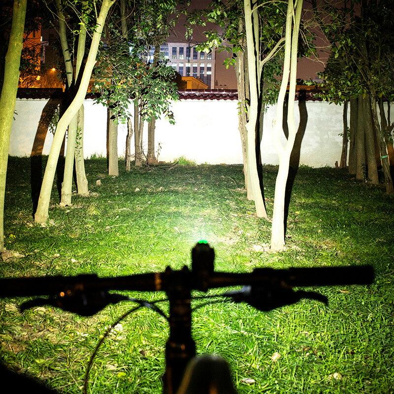 洛克兄弟自行車燈車前燈山地車燈夜騎強光手電筒騎行裝備單車配件 母親節父親節禮物