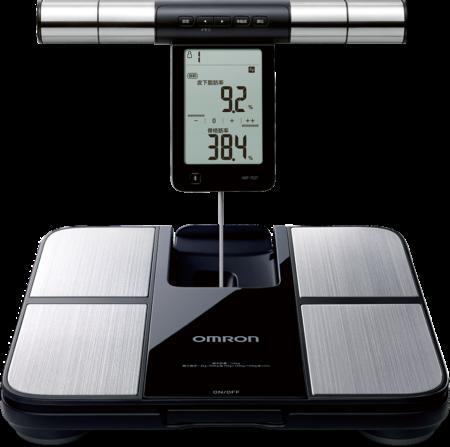 【送太和工房TR55T運動水壼】OMRON 歐姆龍 HBF-702T 藍芽體重脂肪計 熊賀康醫材