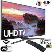 Samsung UN65MU6300FXZA 65 4K HDR Ultra HD Smart LED TV (2017 Model)