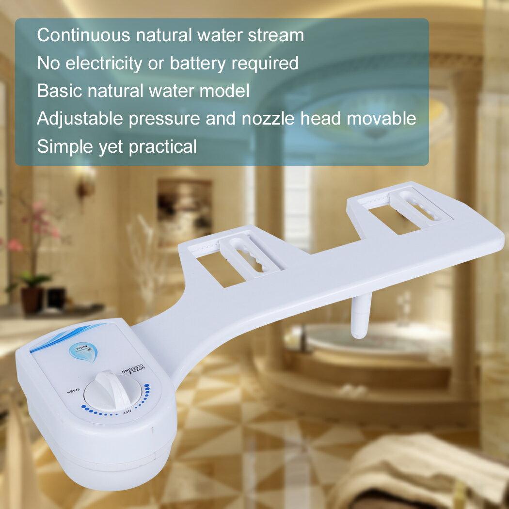 Plastic Home Toilet Non-Electric Bathroom Toilet Bidet Seat Sprayer 6