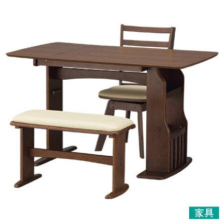 ◎可伸縮兩人餐桌椅組 ROA MBR NITORI宜得利家居 0