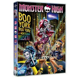 精靈高中音樂劇:扭約扭約 Monster High: Boo York, Boo York (DVD)