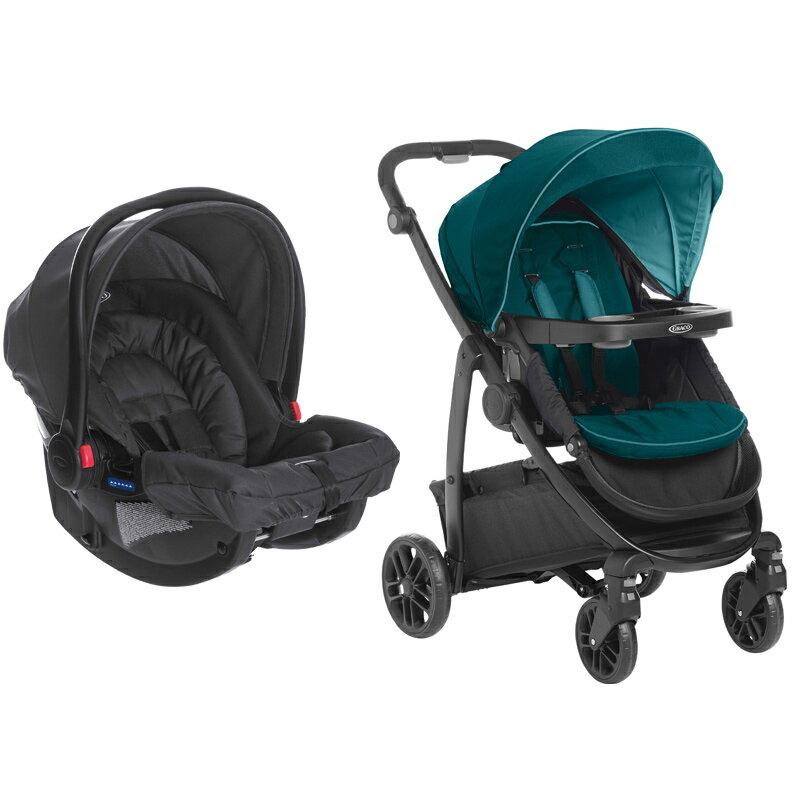 GRACO - MODES + SNUGRIDE多功能型雙向嬰幼兒手推車提籃系列及嬰幼兒汽車安全座椅[贈涼墊] 1
