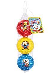 FOOD超人可愛智力球(紅黃藍):幼兒運動遊戲系列