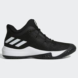 ADIDAS RISE UP 2 SHOES 男鞋 籃球 慢跑 緩震 舒適 黑 白【運動世界】CQ0556