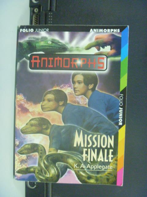 ~書寶 書T1/原文小說_GOS~Mission finale_ K.A. Applega