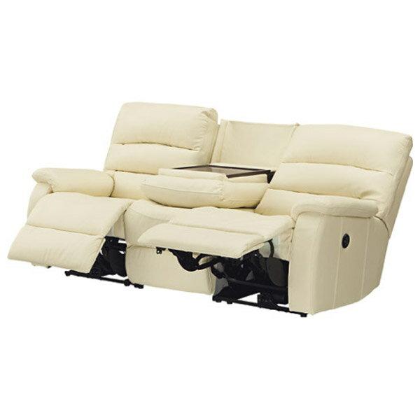 ◎(OUTLET)全皮3人用頂級電動可躺式沙發 BELIEVER IV 福利品 NITORI宜得利家居 1