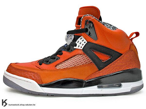 [27.5cm] 2012 超人氣 經典 HYBRID 合體鞋 NIKE JORDAN SPIZIKE NEW YORK KNICKS 橘黑 尼克 MARS BLACKMON EDITION 爆裂紋 ..
