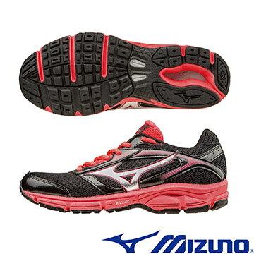 J1GD161303(黑*銀)WAVE IMPETUS 2 (W) 一般型女慢跑鞋 A【美津濃MIZUNO】