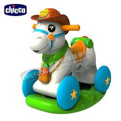 chicco牛仔明星搖搖助步馬