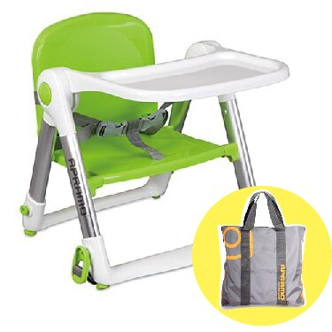 【★贈原廠兩用提袋】英國 Apramo QTI Flippa 摺疊式兒童餐椅-7色