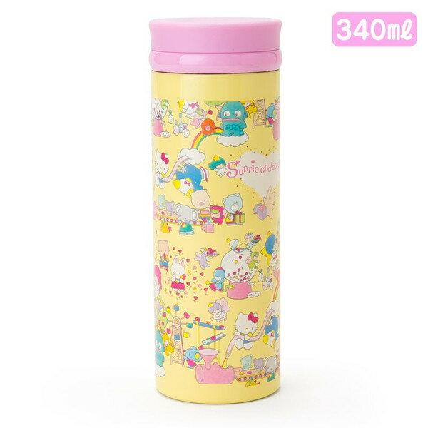 X射線【C474082】Sanrio 不鏽鋼隨手杯340ml-Mx,隨手瓶/保溫杯/直飲式水壺/保冷保溫/環保