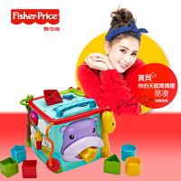 積木玩具推薦到*babygo*Fisher-Price費雪牌可愛動物積木盒就在babygo推薦積木玩具