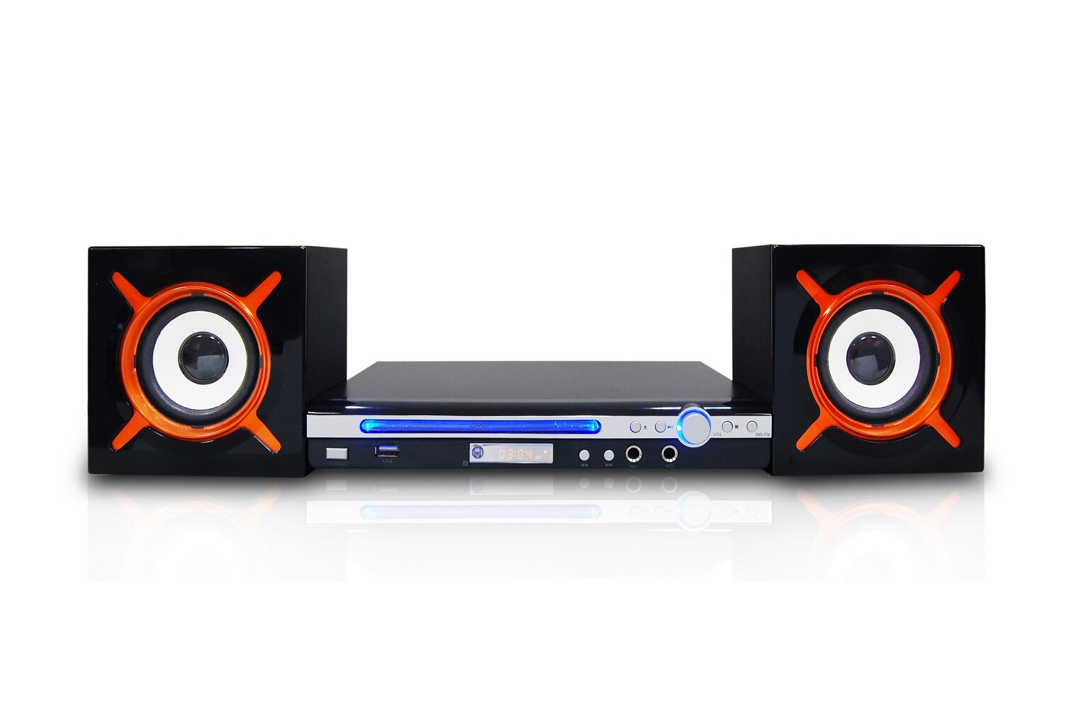 <br/><br/>  【Dennys】DVD/USB/FM組合音響(DVD-K9B)<br/><br/>