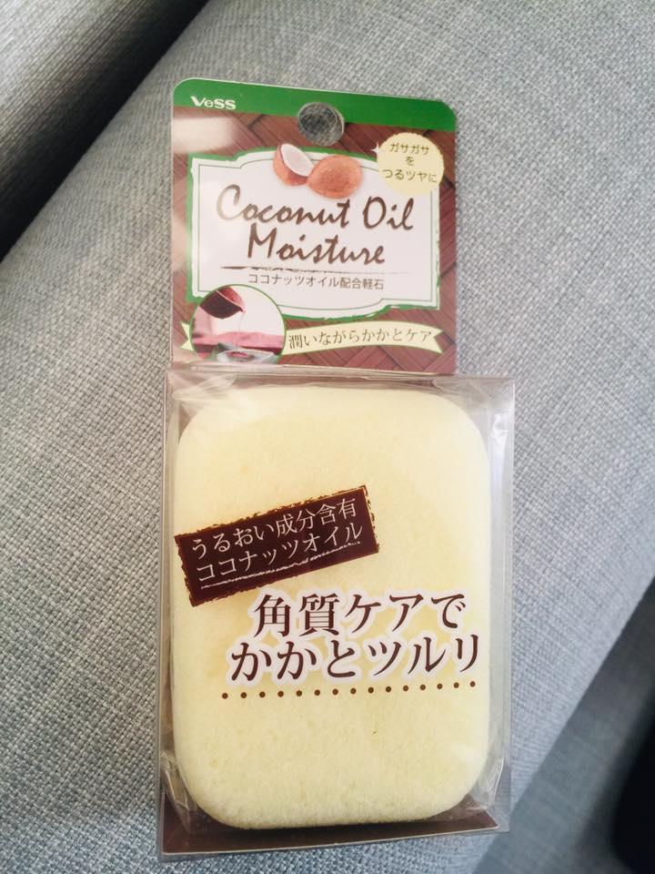 [現貨ing] 日本製 Vess 椰子油 滋潤 防龜裂 磨腳石
