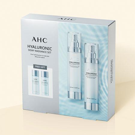 韓國 AHC 高效B5神仙水乳液四件組 神仙水 保濕 化妝水 乳液 旅行組【N202706】