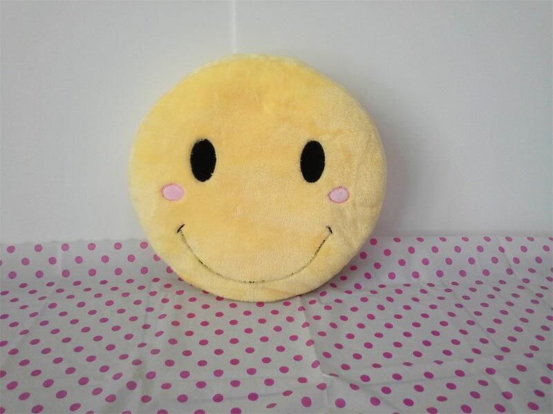 ~*My 71*~  絨毛娃娃 30 cm 笑臉枕 黃色笑臉 抱枕 smiling face 兒童 情人 禮物 玩具