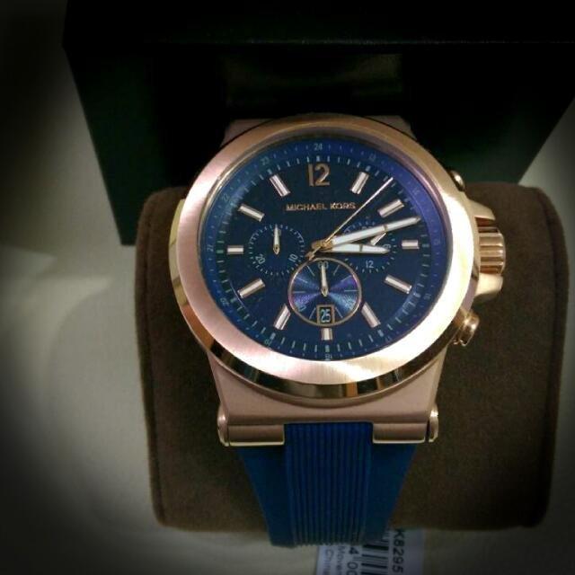 【限時8折 全店滿5000再9折】 Michael Kors Dylan系列競速方程式三眼計時手錶腕錶 MK8295 Outlet正品代購 3