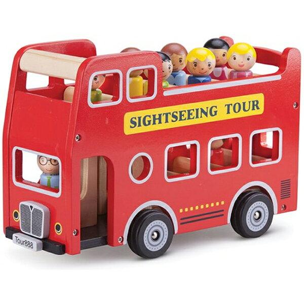 免運費《荷蘭NewClassicToys》玩偶城市遊覽巴士