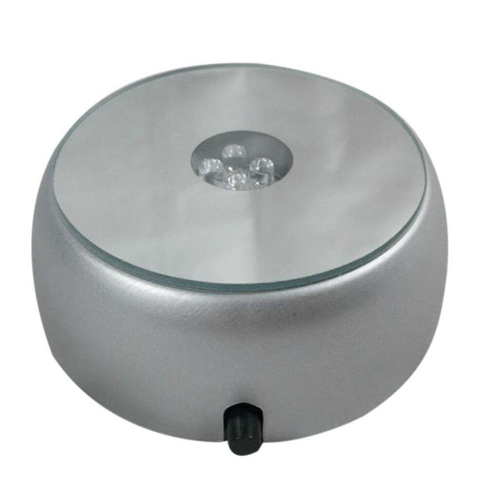 水晶燈音樂盒水晶禮盒4 LED裝飾