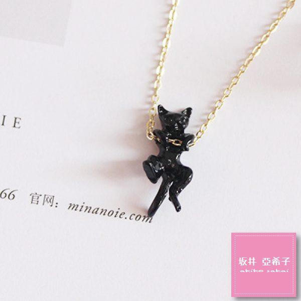 『坂井.亞希子』立體造型玩樂貓咪鎖骨練 1