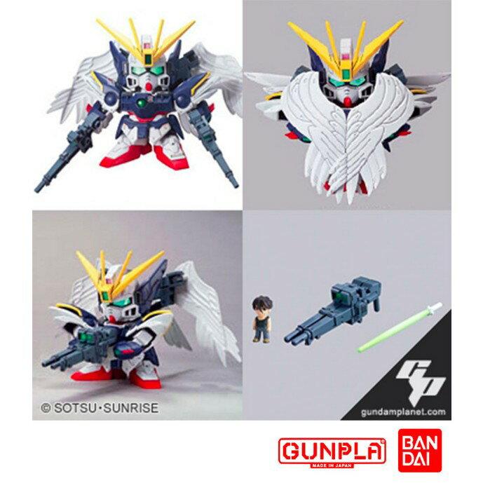 【鋼普拉】BANDAI SD鋼彈W BB戰士 #203 XXXG-00W0 W-GUNDAM ZERO 飛翼零式(改)