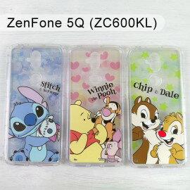 迪士尼空壓軟殼[麻吉]ASUSZenFone5Q(ZC600KL)6吋【Disney正版】史迪奇小熊維尼奇奇蒂蒂