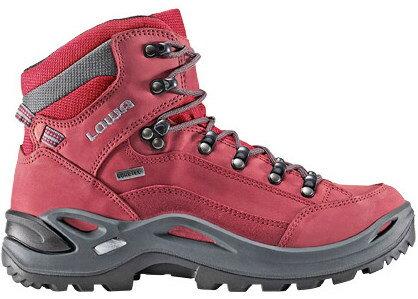 Lowa 中筒防水健行鞋 登山鞋 Renegade GTX Mid 女款 紅色 LW320945