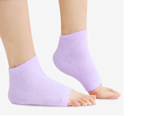 光瑕無痕露趾腳跟修護套|G1320|凝膠腳套 凝膠修護套 滋潤修護腳套【mocodo 魔法豆】
