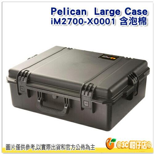 採客訂 Pelican 派力肯 iM2700 氣密箱 塘鵝 防水盒 運輸箱 風暴箱 Medium Case 公司貨  iM2700-X0001 - 限時優惠好康折扣