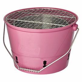 《台南悠活運動家》 COLEMAN 美國 BBQ水桶 烤肉架 CM-3495 CM-3496