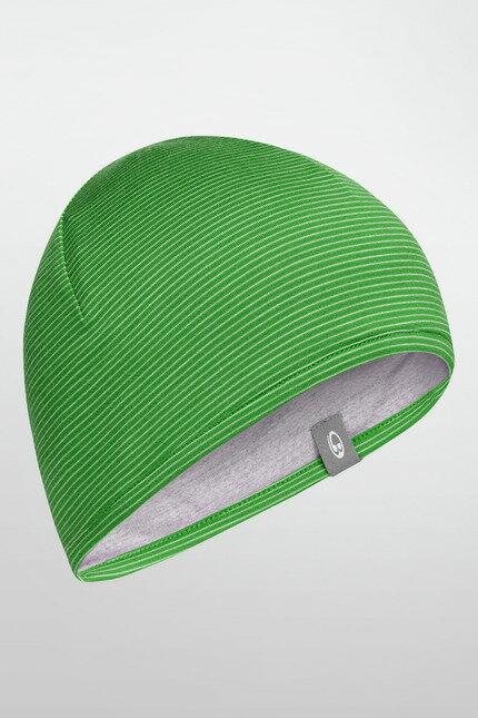 《台南悠活運動家》 ICEBREAKER 紐西蘭 AC200 雙面條紋保暖帽 101391