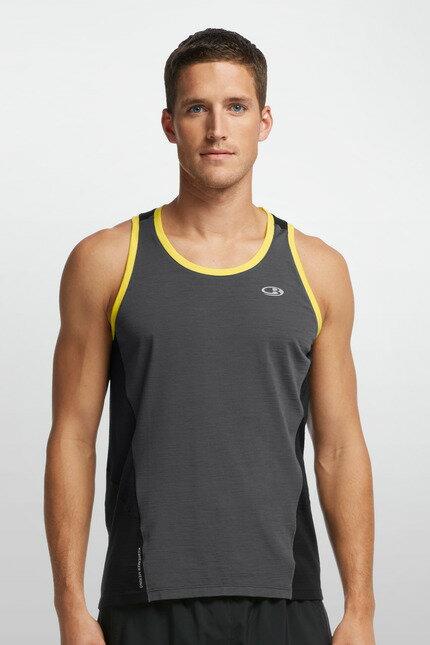 《台南悠活運動家》 ICEBREAKER 紐西蘭 男COOL-LITE網眼運動背心 GT160 IB102221