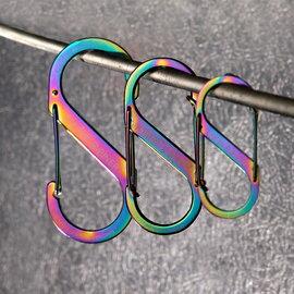 《台南悠活運動家》NITE IZE 美國 S-BINER #3 不鏽鋼8字扣 SBP3