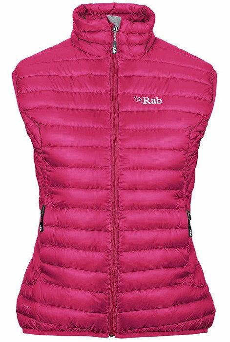 《台南悠活運動家》 RAB 英國 Microlight Vest 女款羽絨背心 QDA58