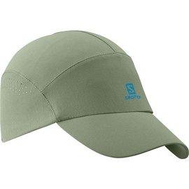 《台南悠活運動家》 SALOMON 法國 尼羅河綠 SOFTSHELL帽 358958