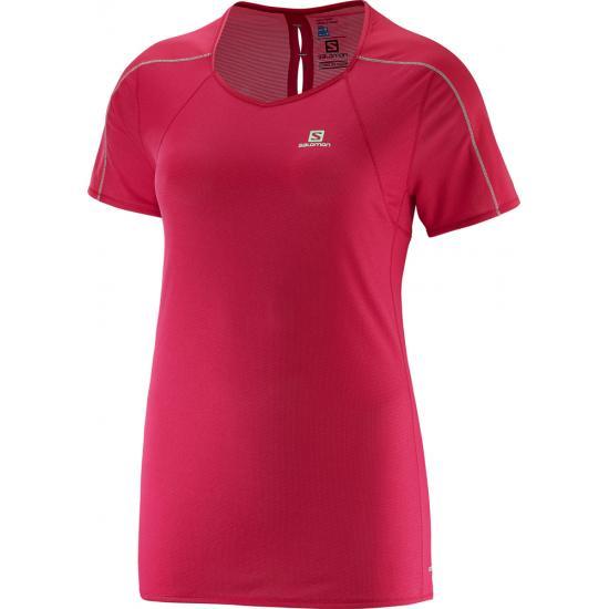 《台南悠活運動家》 SALOMON 法國 MINIM EVAC TEE 女款排汗T恤 371147