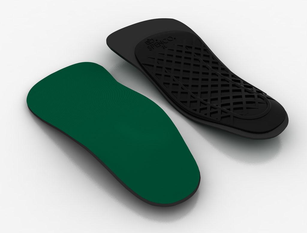《台南悠活運動家》SPENCO 美國 3/4足弓支撐鞋墊 SP431580