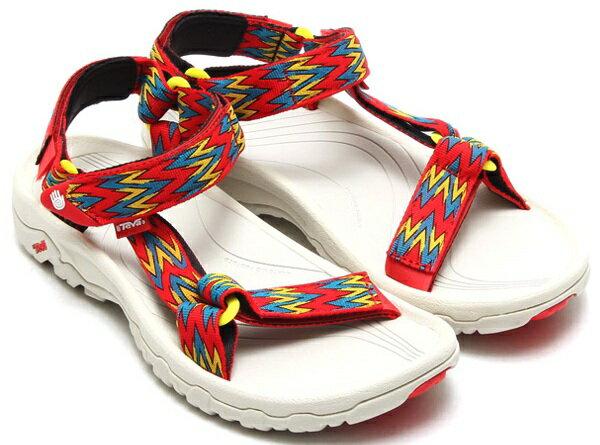 《台南悠活運動家》TEVA 美國 紅紋 運動涼鞋 4156